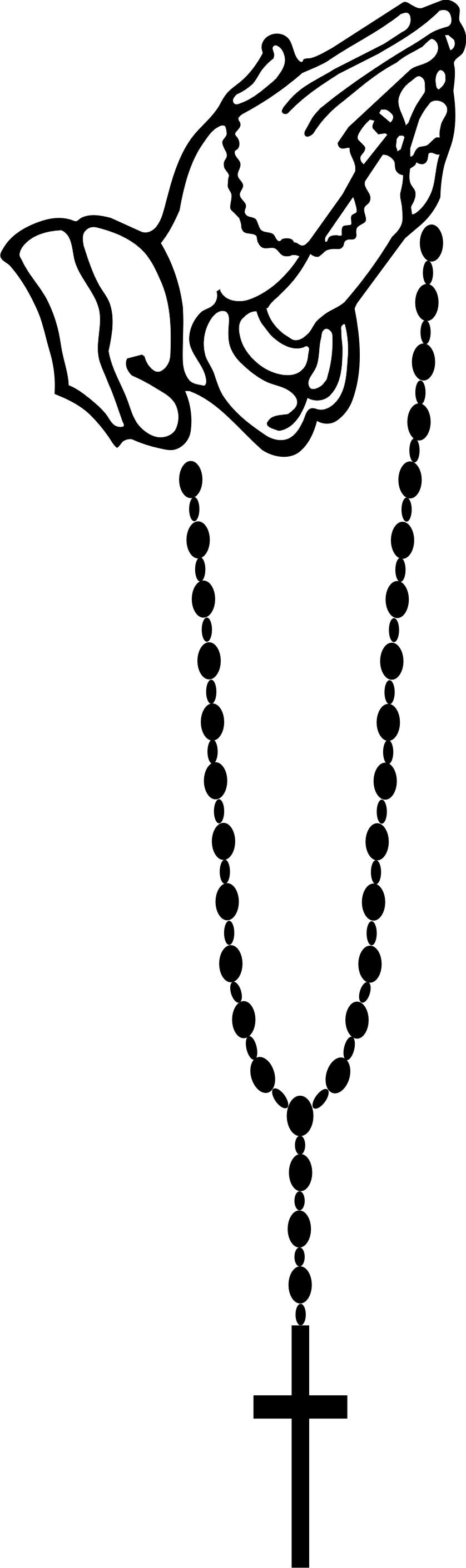 Rosary clip art 2