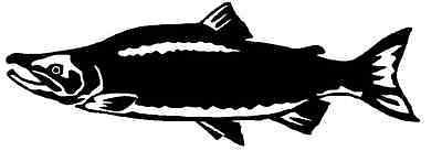 Salmon silhouette cnc plasma laser router dxf clip art ebay