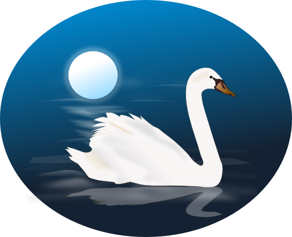 Swan 4 clip art at vector clip art