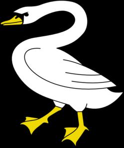 Swan 6 clip art at vector clip art