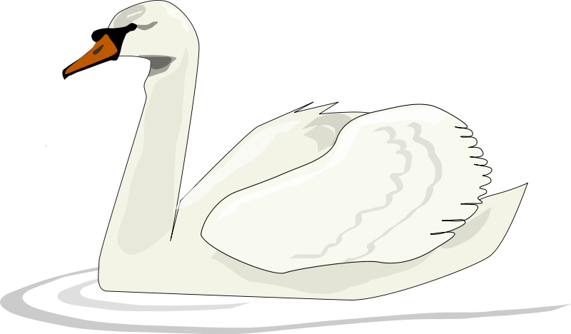 Swan clip art  2