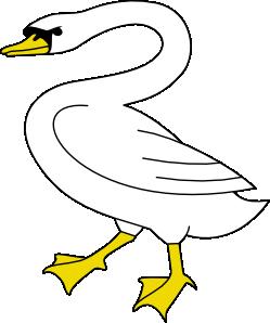Swan clip art at vector clip art free 2