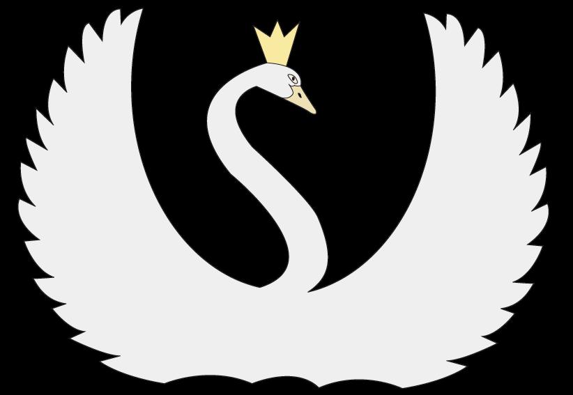 Swan raster picturet clip art