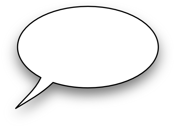 Word bubble cartoon speech bubble clip art at vector clip art