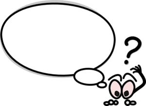 Word bubble speech bubble with person pointing up clip art high quality clip art