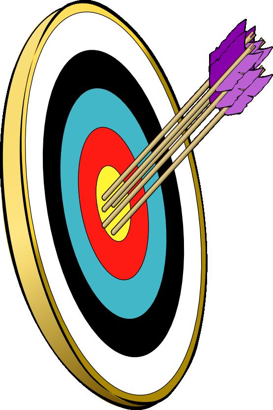 Archery bullseye clipart 9 clip art bullseye