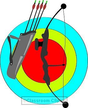 Archery clipart classroom clipart