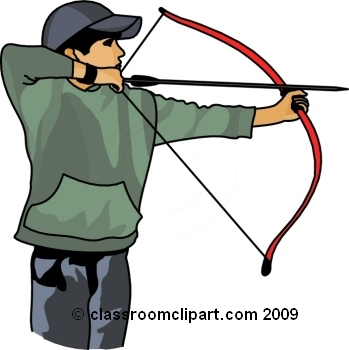 Archery clipart rb classroom clipart