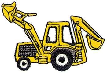 Backhoe clip art images