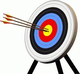 Cliparti1 archery clipart