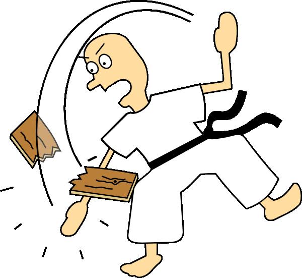 Karate clip art