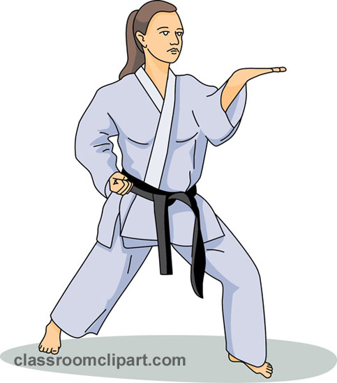 Karate clipart karate a classroom clipart