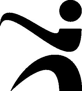 Karate logo clip art at vector clip art