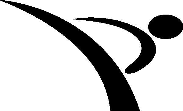 Karate symbol clipart 2