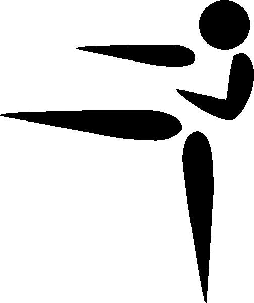 Karate symbol clipart