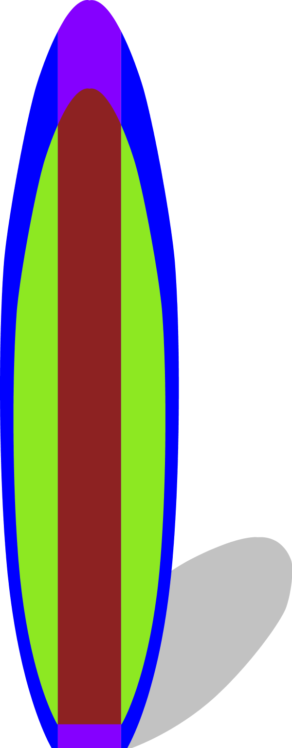 Surfboard clip art 11