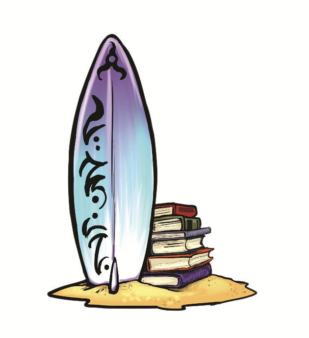 Surfboard clip art 8