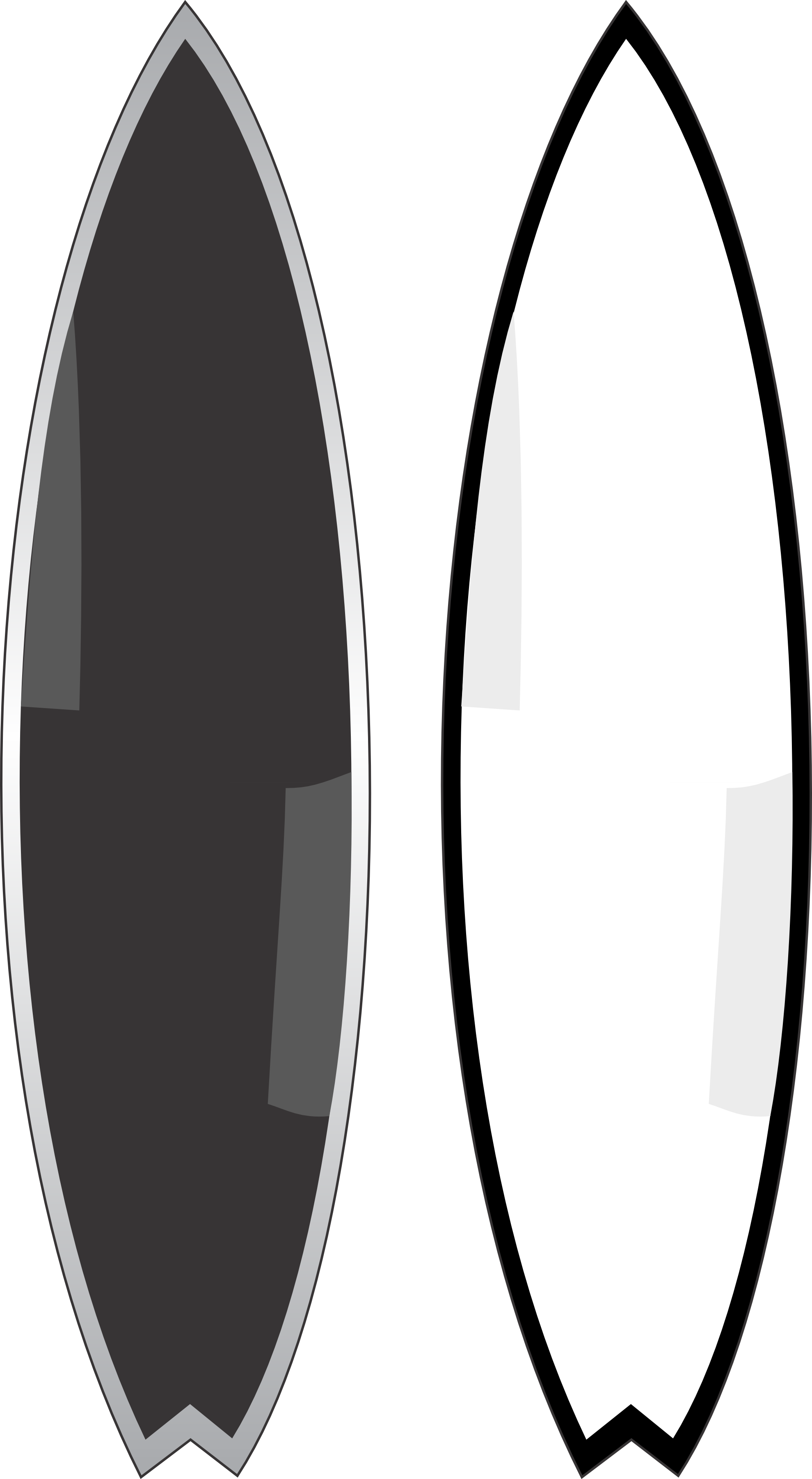 Surfboard clip art 9