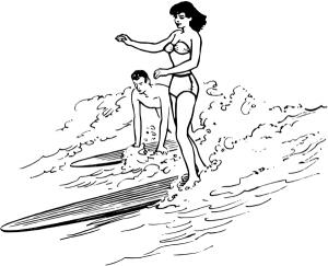 Surfboard clip art download