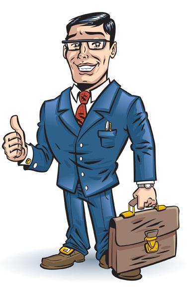 Businessman clip art clipart 2