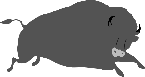 Free buffalo clipart clip art image 1 of