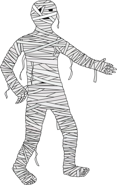 Gallery for animated mummy clip art