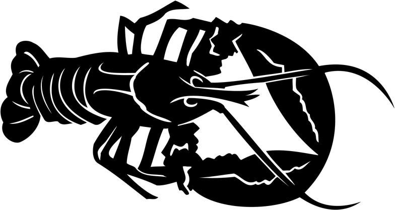 Lobster about us clipart