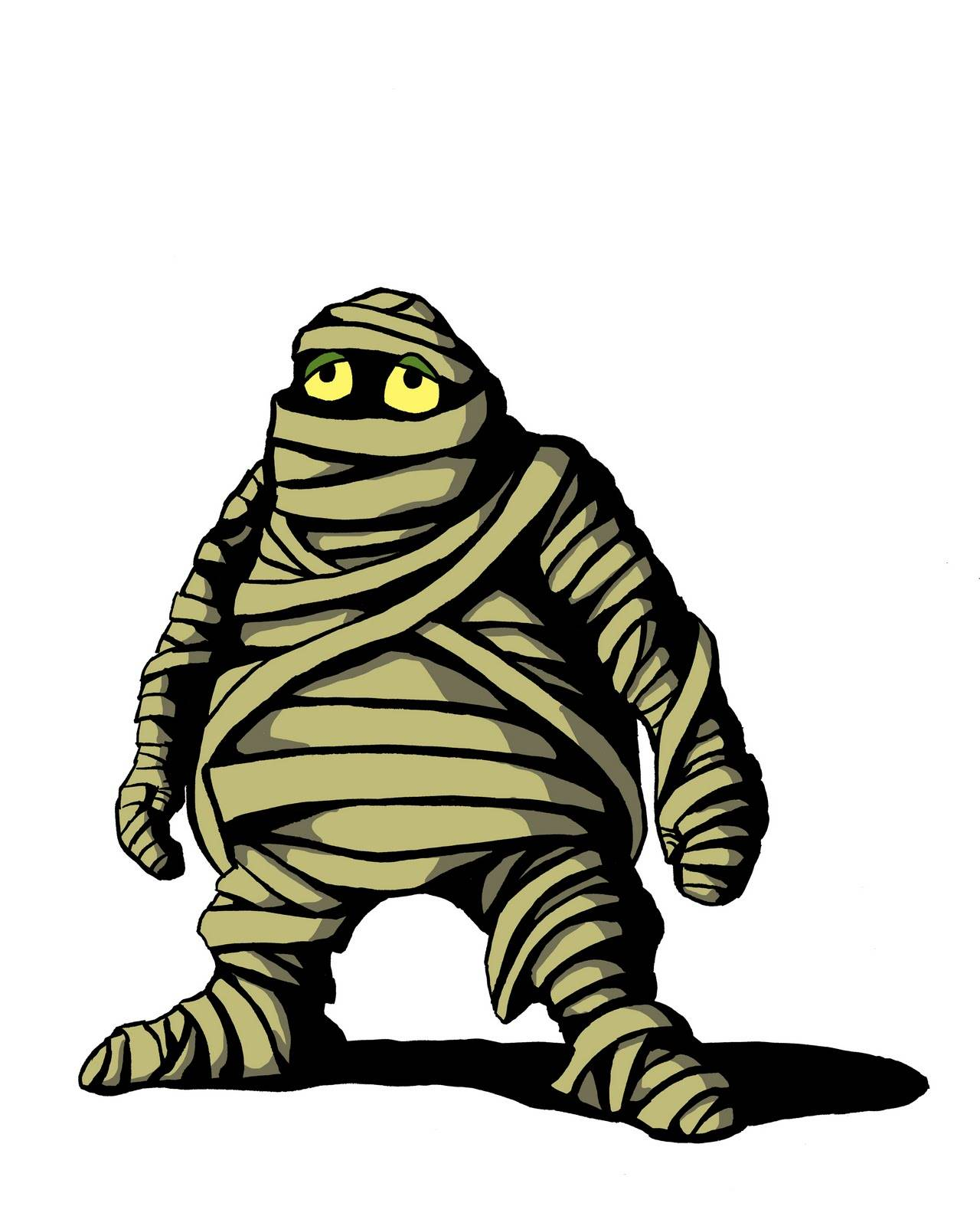 Mummy cartoon clipart 2