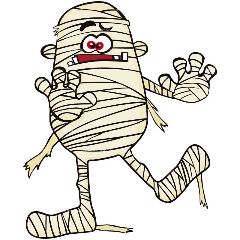 Mummy fireman clip art