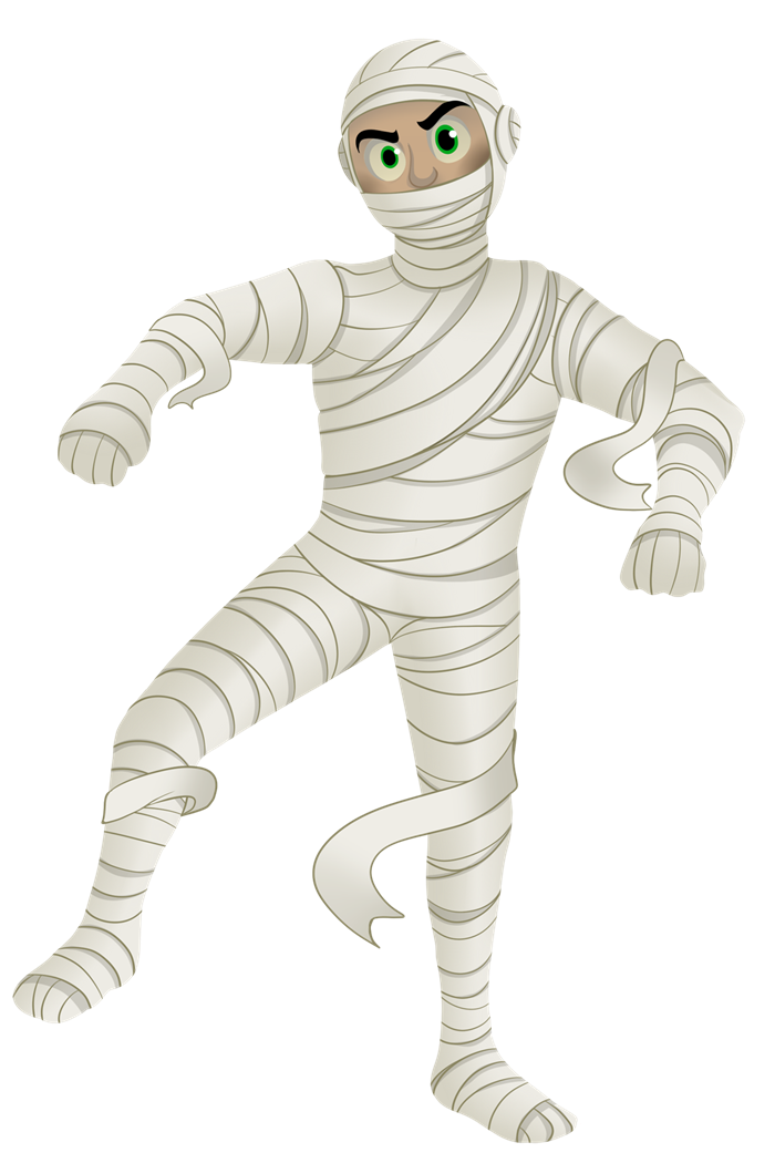 Mummy6 clip art