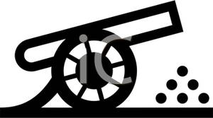 A cannon clipart