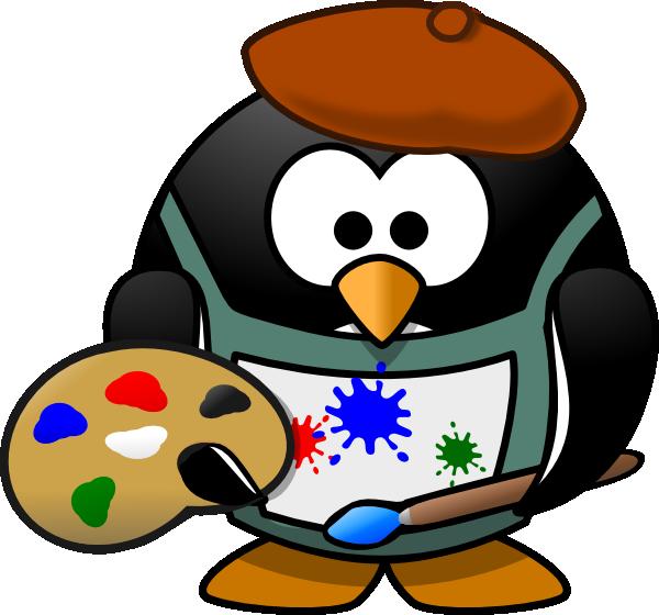Artist clip art free clipart images 3