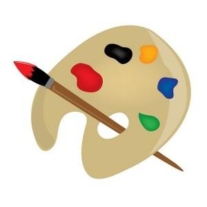 Artist palette clipart clipart