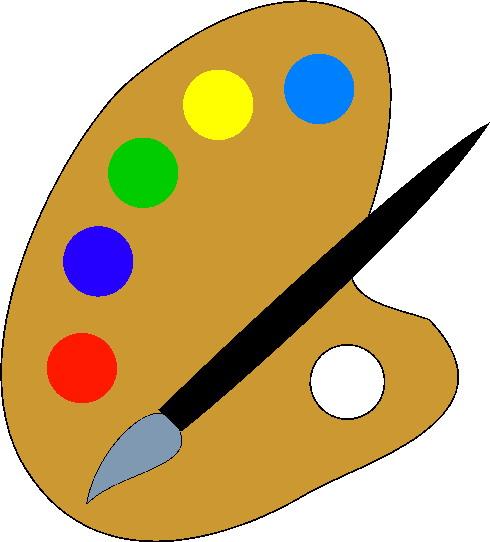 Artist pic art clip art free
