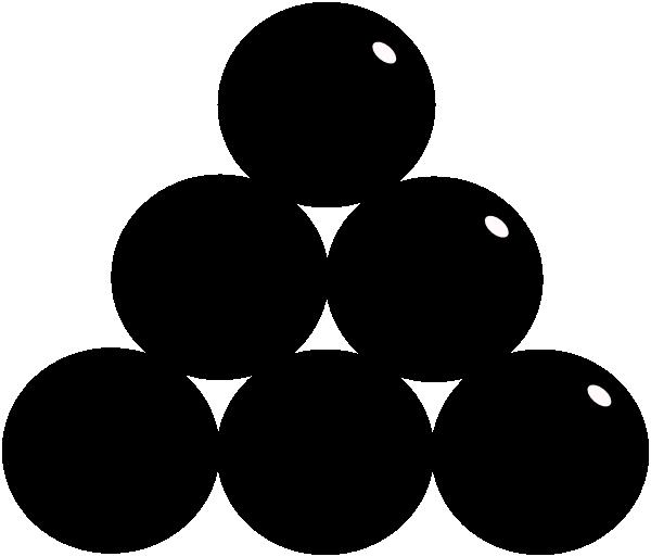 Cannon balls clip art at vector clip art