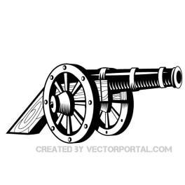 Cannon clip art vectors download free vector art