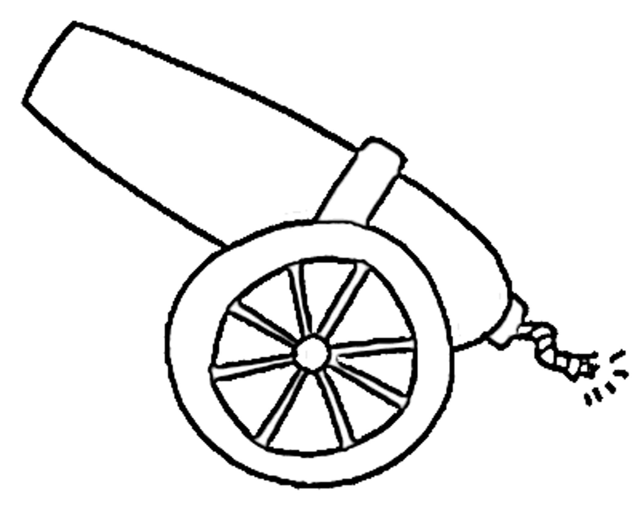 Cannons clipart clipart