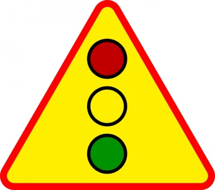 Caution sign clipart free clipart images