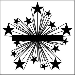 Clip art starburst