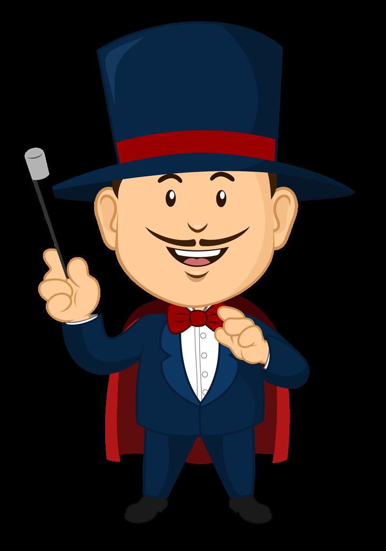 Clipart magician clipart