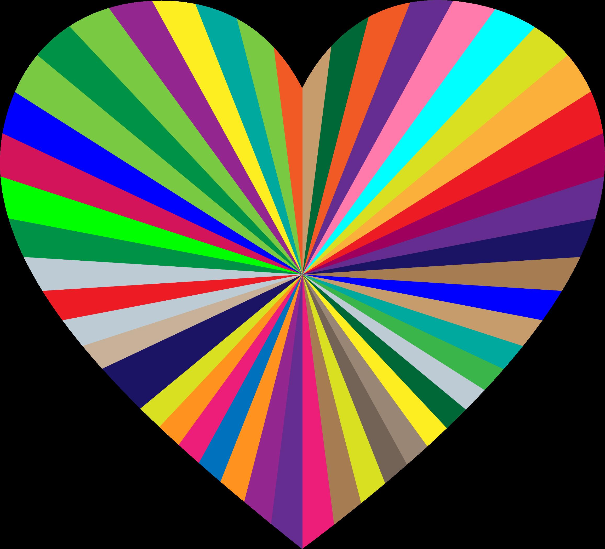 Clipart starburst heart 2