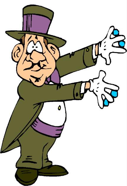 Cliparti1 magician clip art