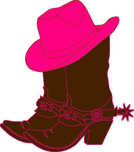 Cowboy boot cowgirl boots clip art at vector clip art