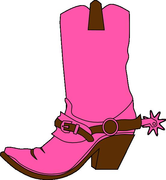 Cowboy boot pic free clip art boots