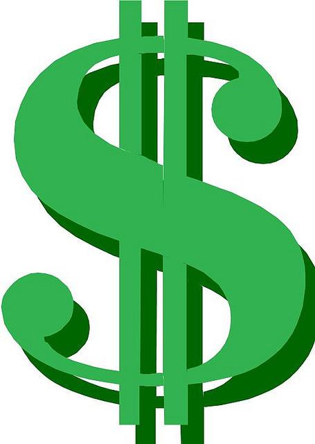 Dollar sign clipart 8