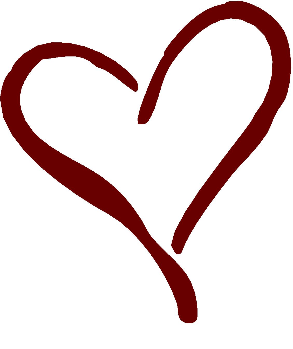Fancy heart clip art clipart