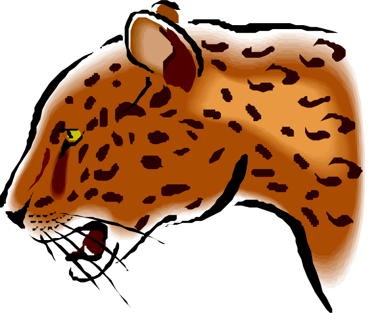 Free jaguar clipart 2
