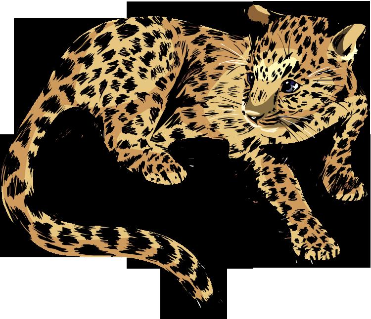 Free jaguar clipart 3