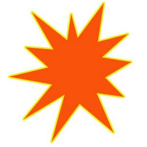 Free starburst clip art