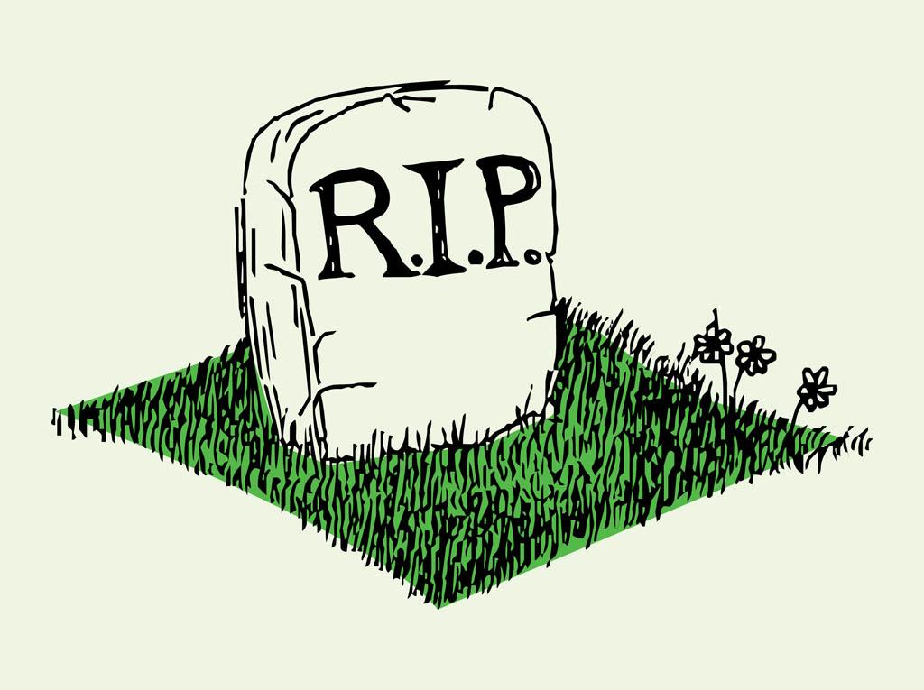 Grave clipart 2
